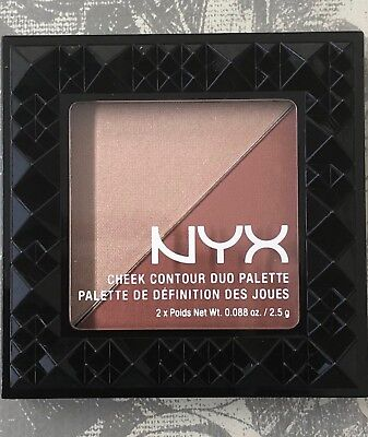 NYX Cheek Contour Duo Palette. CHCD06 GINGER & PEPPER. Brand New & Sealed X