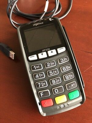 Ingenico Card Swiping Device Model IPP350, 6' USB Connection, Tested, Free Ship!