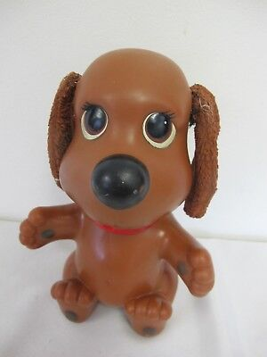 RUB A DUB Dog Doggie Doggy Brown Ideal 1982 Bath Toy with Box ...