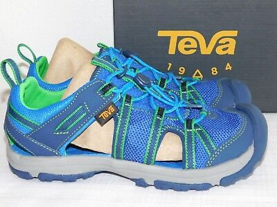 a9b454012e33 NEW SIZE 6 Teva Manatee Navy Sport Sandals Girls Boys Youth Kids Nib ...