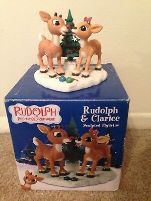 ENESCO RUDOLPH AND CLARICE Sculpted Figurine, There's Always Tomorrow 4002017