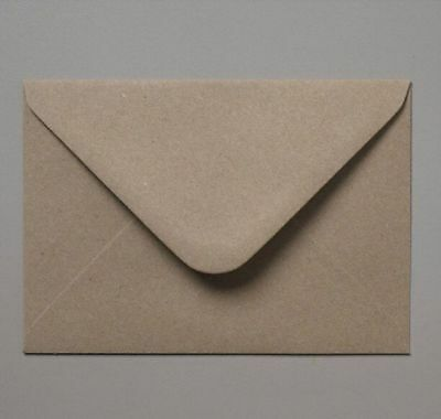 C5 Brown Fleck Kraft Envelopes 162mmx229mm For A5 Greeting Cards Invitations