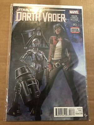 Star Wars Darth Vader 3. Marvel. NM. 1st Aphra. 1st Print.