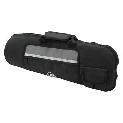 Durable use Black fabric made portable Trumpet bag gig trumpet case thick sponge