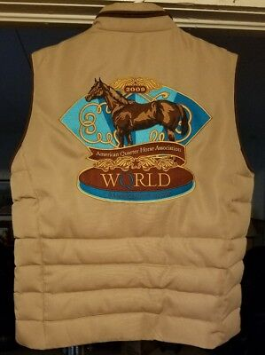 AMERICAN QUARTER HORSE ASSOCIATION WORLD CHAMPIONSHIP SHOW 2009 Vest  MINT