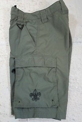 Boy Scouts Of America Uniform Shorts Swim Youth Large Inner Mesh Brief