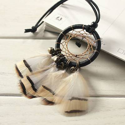 Dream Catcher With feathers Wall Hanging Decoration Decor Home Car Bead Ornament