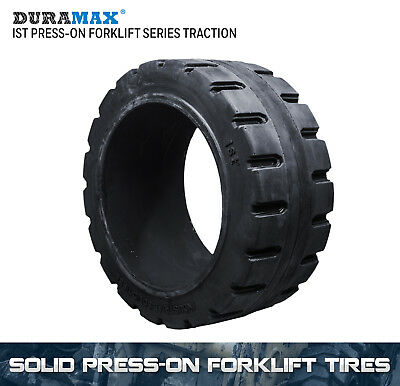 21x7x15 Duramax IST Traction Solid Press On Forklift Tire 21x7-15 (1 Tire)