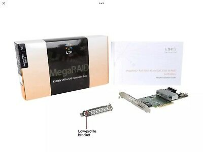 LSI 9361-8i 2GB PCI-E Controller with Cachevault