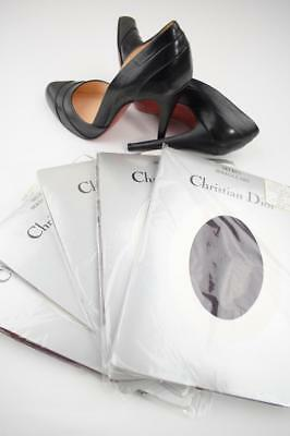 SASSY 10 Pr CHRISTIAN DIOR PORT SANDALFOOT Vintage Nylon Stockings 9.5/34""