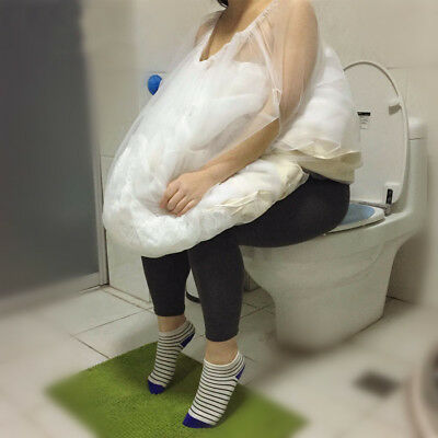 Wedding Dress Petticoat Buddy Gather Skirt Underskirt Save You From Toilet Water