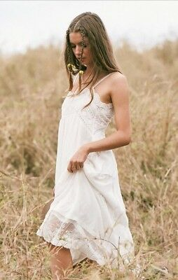761afe8e232f1 SPELL & THE Gypsy Designs Collective Peaches Slip Dress Xs - $180.00 ...