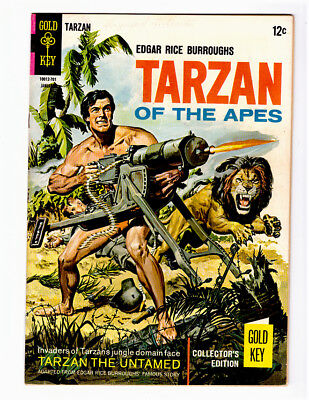 TARZAN OF THE APES #163 in VF condition 1967 Silver Age Gold Key comic