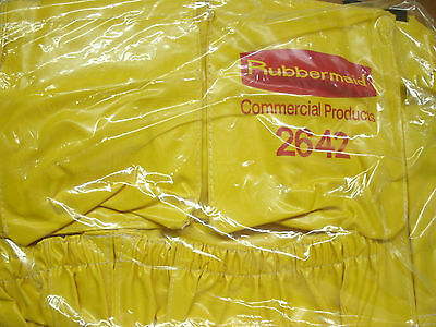 NEW Rubbermaid 2642 Brute Round Container Caddy Bag Janitorial Bag
