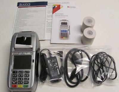 New Firstdata Fd130 Wifi Emv Chip Reader Debit Credit Card Reader Terminal