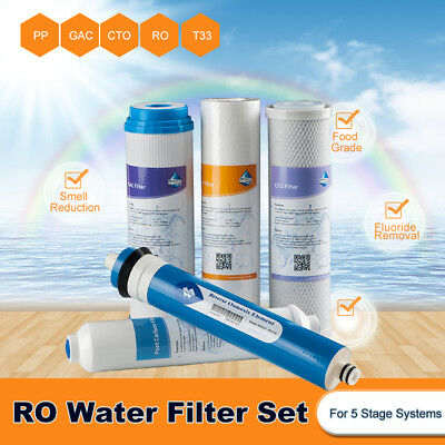 Popular Family Use 5 Stage RO Water System Refill Filters 1:1 Ratio Water Saving