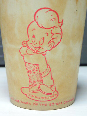 Squirt Soda Wax Sample Cup 1947 9 oz Very Rare