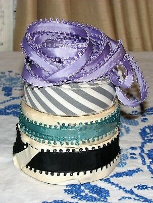 Vintage Ribbons from France..Lot Mixed
