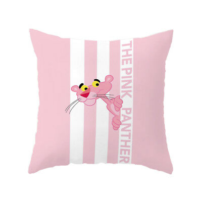 PINK PANTHER Seat Sofa Pillow Cover Cushion Cover Home Decor #02 Us un07