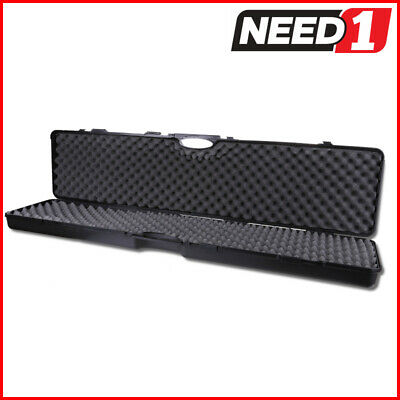 TSUNAMI Hard Gun Case, Large Enough To Hold 2 x Scoped Rifle/Shotgun
