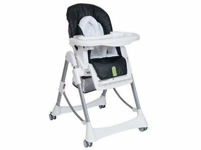 Steelcraft Baby Feeding High Chair Messina DLX Hi Lo Onyx