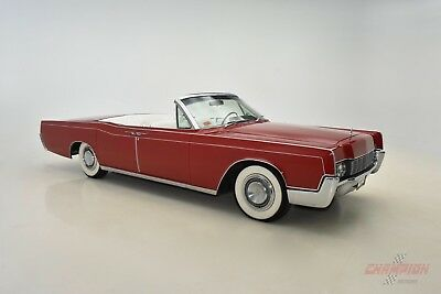 "1967 Lincoln Continental  ""1967 LINCOLN CONTINENTAL CONVERTIBLE. RESTORED TO ITS ORIGINAL CONDITION!"""