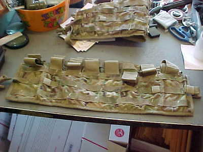 MOLLE Tactical Panel TAP WITH SUSPENDERS    MultiCam MILITARY ARMY  OCP