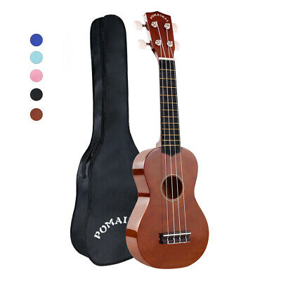 21 inch Soprano Ukulele Beginner Uke Mini Guitar Music Instrument + Gig Bag