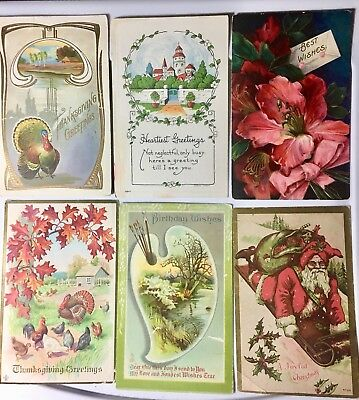 Lot of 50 Assorted Mixed Vintage Postcards