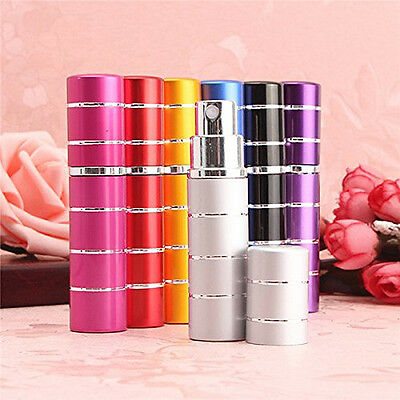 Perfume Aftershave Atomizer Bottle 5ml /10ml Pump Travel Refillable Spray New