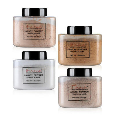 Makeup Translucent Finish Powder Face Loose Powder Smooth Setting Foundation un5