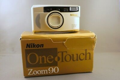 Nikon One Touch Zoom 90 38-90mm Macro AF 35mm Point & Shoot Film Camera
