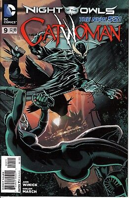 Catwoman #9 New 52! Jul.2012 [2011 4th Series] DC Comics NM Nights of the Owls