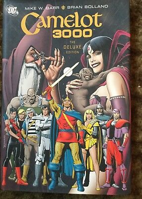 Camelot 3000 HC Deluxe Edition by Mike W. Barr (Hardback, 2008)