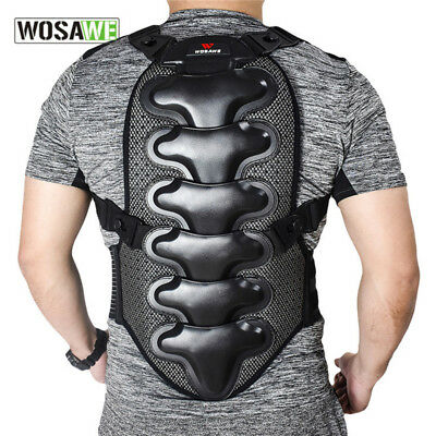 Motorcycle Armour Back Spine Protective Vest Riding Motorcross Off-road Gear