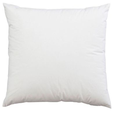 """17"""" x 17"""" Inch Square Cushion Inner Pads OVER FILLED Set Of 4 Non Allergenic"""
