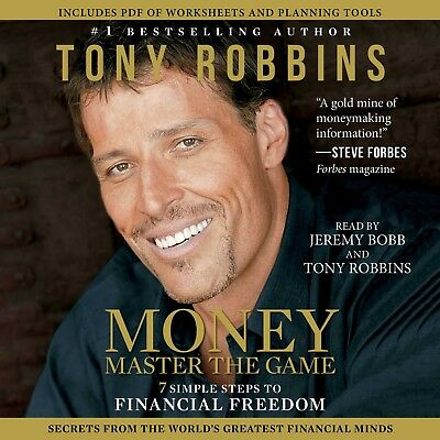 Money Master the Game by Tony Robbins - MP3 Audiobook
