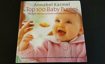 Annabel Karmel Weaning Book and Top 100 Baby Purees Book
