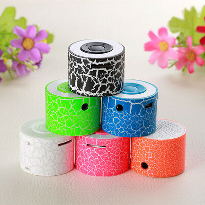 MINI LED Portable Bluetooth MP3 Speaker TF USB Music Sound Subwoofer Wireless US