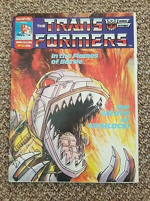marvel transformers comics uk #32