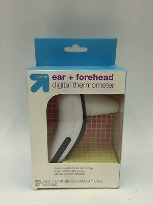 Up & Up Ear + Forehead Digital Thermometer - (Model 131-935-000)