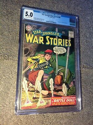 Star Spangled War Stories 84 CGC 5.0 OW-W 1st Mademoiselle Marie