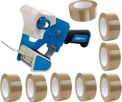 HAND HELD 18MM X 30YDS  038//025  13C CLEAR TAPE AND TAPE DISPENSER PACK OF 2