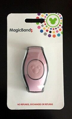 Disney Parks Millennial Rose Gold Magic Band 2.0 Just Released New In Pkg Pink