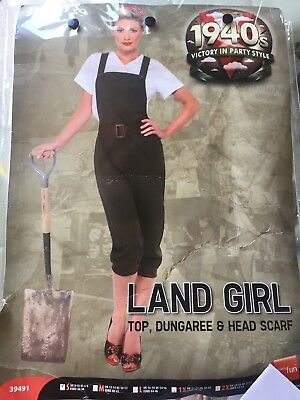 1940 s fancy dress women land girl