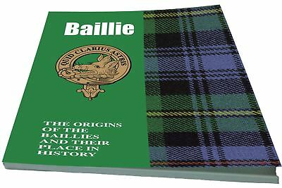 Baillie Scottish Clan History Booklet