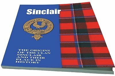 Sinclair Scottish Clan History Booklet
