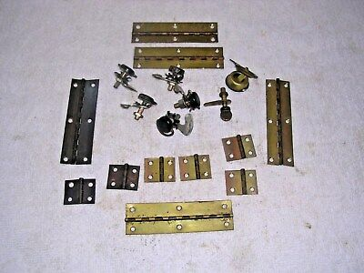 Clock  Parts ,  Hinges  And  Catches