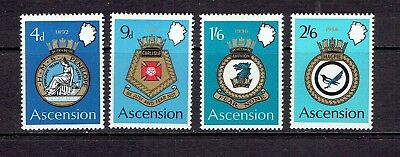 Ascension Island - 1970 - Naval Arms - Scott 134 To 137 - Mlh