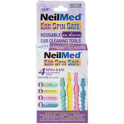NeilMed Ear Spin Safe Tools 4ct 705928604049WS
